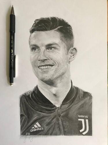 Ronaldo-sketch-juventus