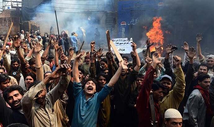 Pakistanis anger